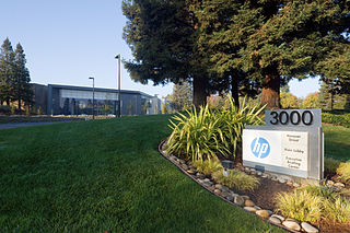 HP in Palo Alto, Kalifornien